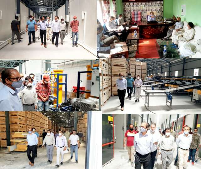 Director Horticulture Kashmir visits Shopian, meets stakeholders of Horticulture industry