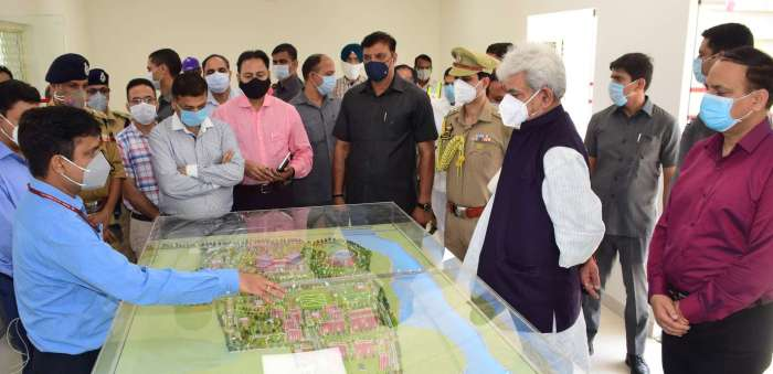 Lt Governor visits AIIMS site, inspects pace of on-going construction work
