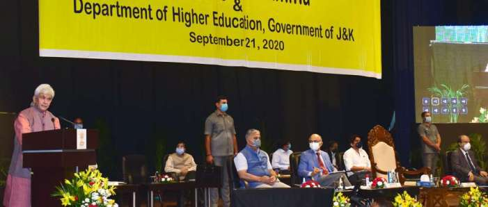 Lt Governor inaugurates Second Brainstorming Conference on implementation of NEP-2020 in J&K