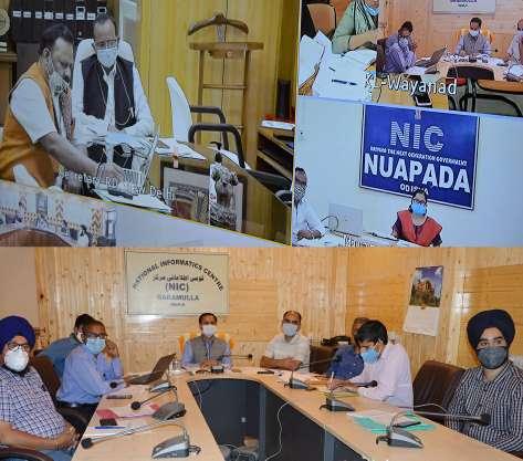 Union Secretary RDD e-reviews progress under TAD Programme in Baramulla