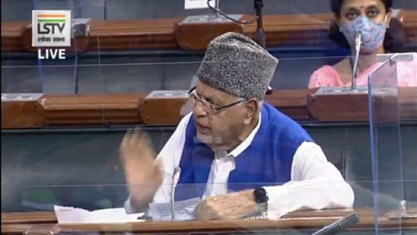 If talks can happen with China, why not with other neighbour: Farooq Abdullah in LS