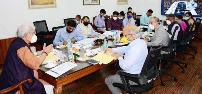 Lt Governor Manoj Sinha chairs maiden Jammu University Council meeting