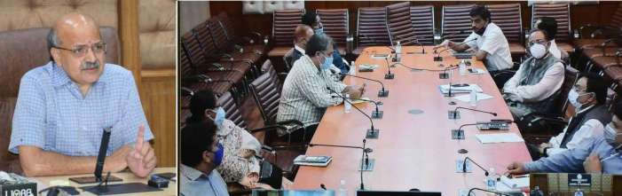 CS reviews preparations for Jan Abhiyan commencing from 10th September