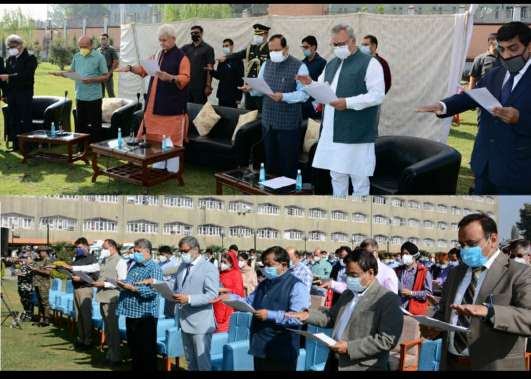 Commencing of Back to Village programme, perfect way to honour Father of the Nation: Lt Governor