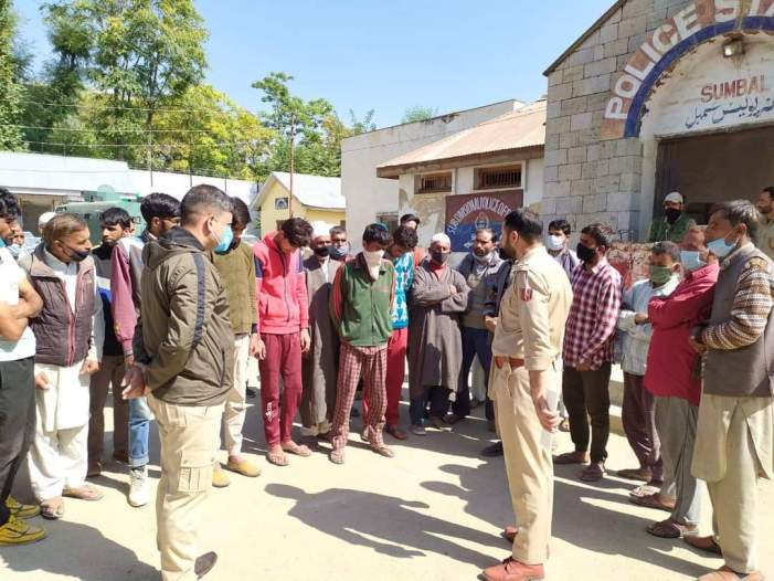 3 Bandipora youth prevented from joining militancy, says police