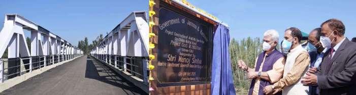 Lt Governor dedicates Ashthal Bridge worth Rs 9.55 cr to the local people