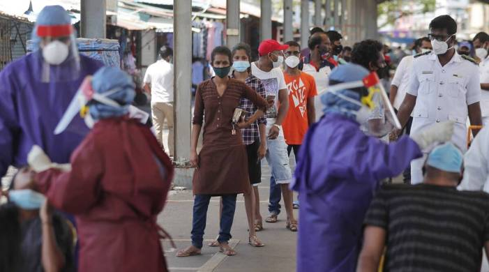 Sri Lanka closes fish market, expands curfew