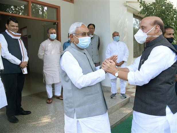 Nitish to be sworn in as Bihar CM today; Shah, Nadda to be present