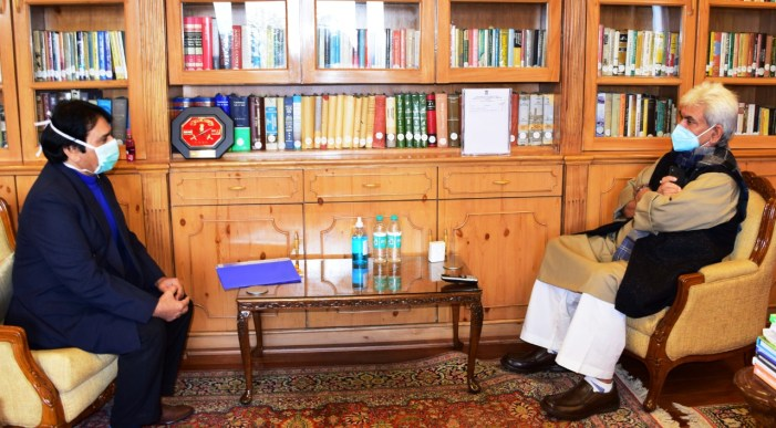 Director SKIMS calls on Lt Governor