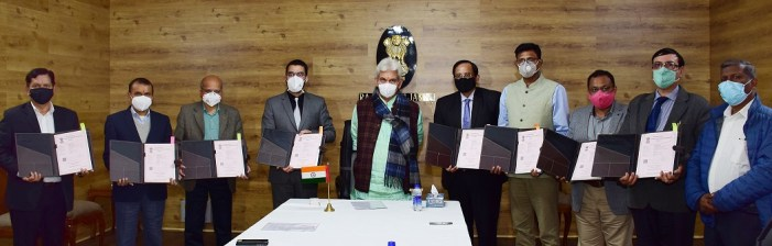 """Mission Youth, Government of J&K inks MoUs with BSE to spread financial literacy  """"We are adopting the best global practices of youth empowerment and encouraging sustainable livelihood"""": Lt Governor"""