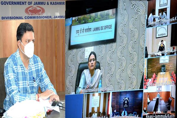 Div Com Jammu asks DCs to furnish details of land transfer under Roshni Act, other encroachments
