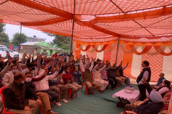 BJP victimized Jammu's innocent population with false slogans: Th Balbir Singh