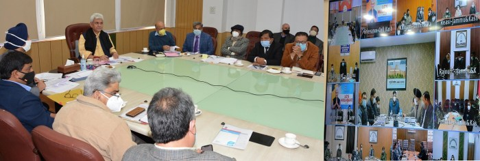 """3rd round of """"LG's Mulaqaat-Live Public Grievance Hearing"""""""