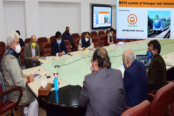 Jammu & Srinagar to get Metro Rail soon