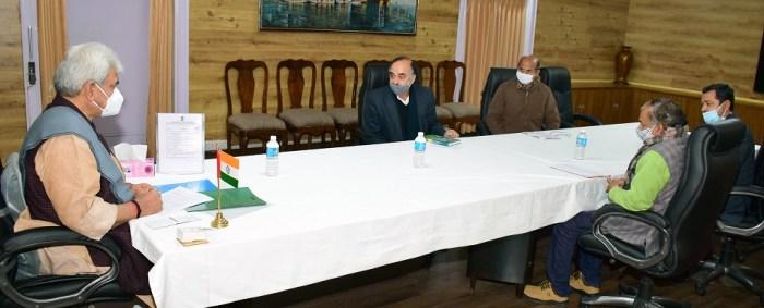 Delegation of Teachers' Forum of Agricultural University, Jammu calls on Lt Governor