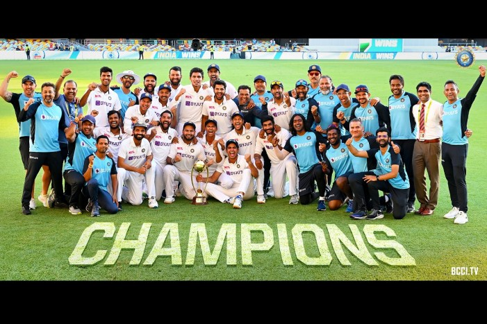 PM Modi congratulates Team India for winning Brisbane Test