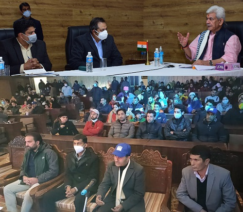Lt Governor attends closing ceremony of Pahalgam Winter Carnival through virtual mode