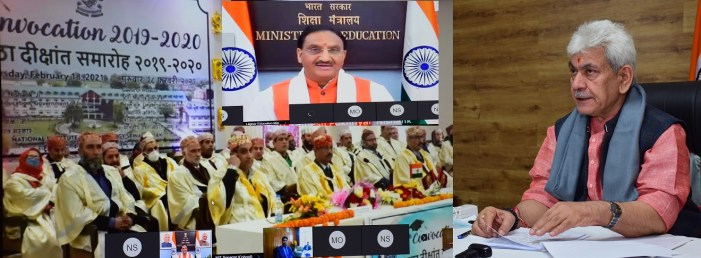Lt Governor addresses NIT Srinagar Convocation