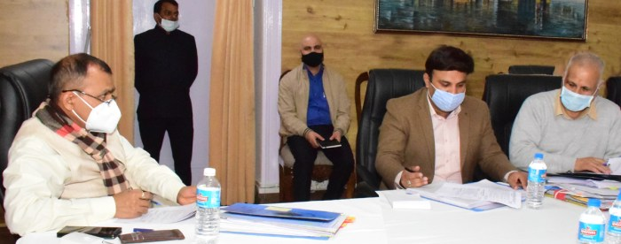Principal Secretary to LG reviews Jammu Smart City Projects; directs for expediting tendering and execution of ongoing works