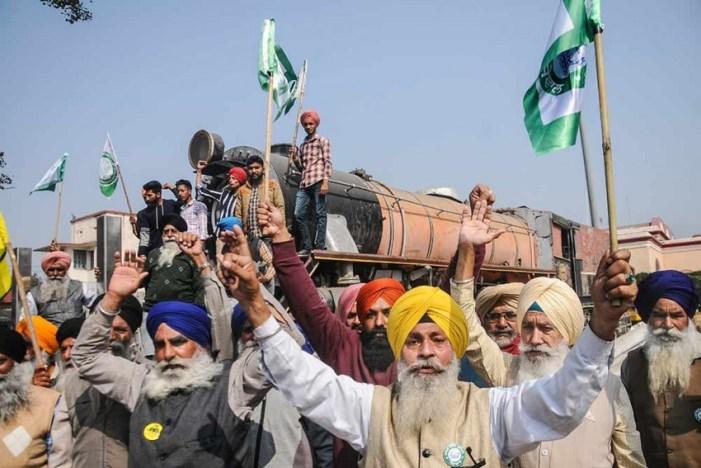 'Rail Roko': Trains Stopped As Farmers In Punjab, Haryana Sit On Tracks