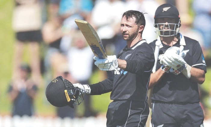 Conway, Mitchell guide NZ to Bangladesh ODI series sweep