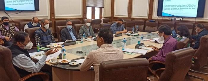 Advisor Bhatnagar chairs 82nd BoDs meet of JKRTC