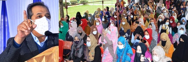 SHGs viable economic activity, help in employment generation & women empowerment: Advisor Baseer Khan