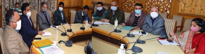 Div Com reviews preparednessfor Jal Shakti Abhiyan-2021 launch