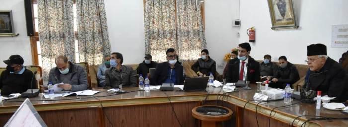DDCMC meets at Srinagar