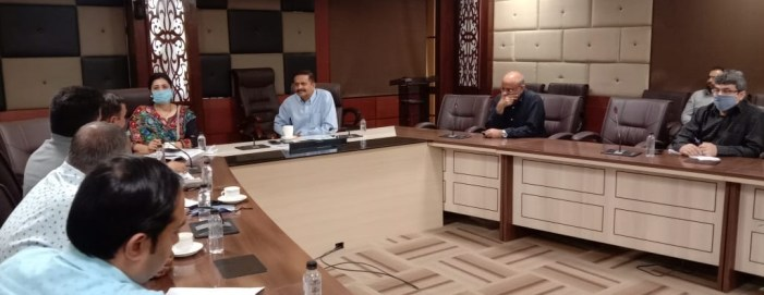 Principal Secretary I&C interacts with various Industrial Associations of Jammu