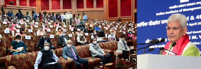 Focus must be on up-scaling of emerging skill sets of Human Capital to fill the gap: LG