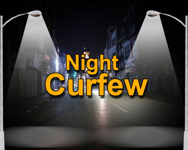 Govt To Impose Night Curfew In 8 Districts In J&K From Tomorrow