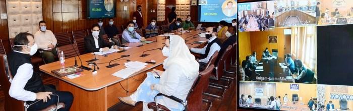 Advisor Baseer Khan reviews functioning of RD&PR Deptt