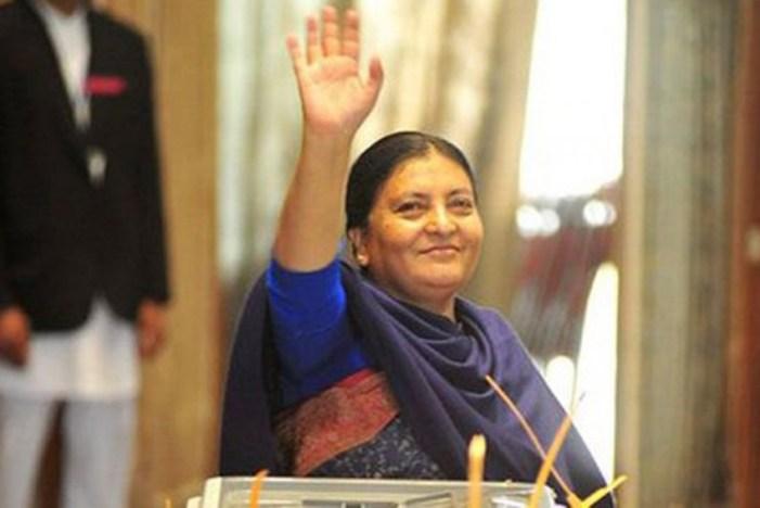 Nepal President Bidya Devi Bhandari Dissolves Parliament