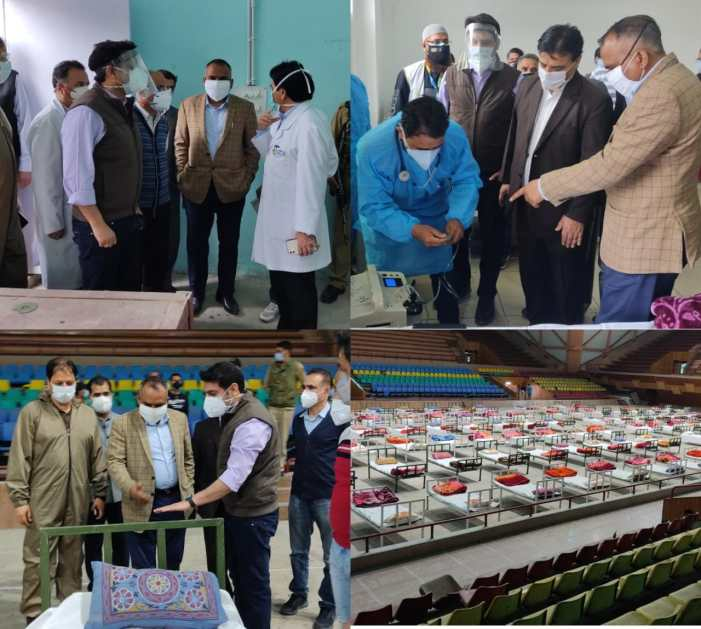 Div Com Kashmir accords sanction to committees for Monitoring,Auditing of oxygen delivery at Covid Hospitals in Srinagar