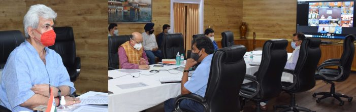 LG sets timelines for establishment of 5-bedded Covid Care Centres at Panchayats; far flung areas to be prioritized