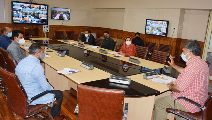 Dr Samoon reviews status of different components of Skill Development Department