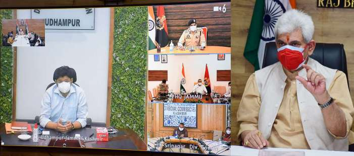 Covid Containment measures: Lt Governor chairs Covid Task Force meeting