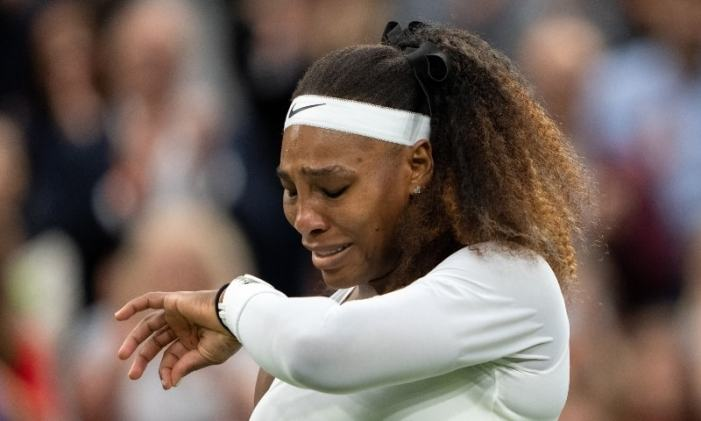 Wimbledon ends in tears for injured Serena Williams
