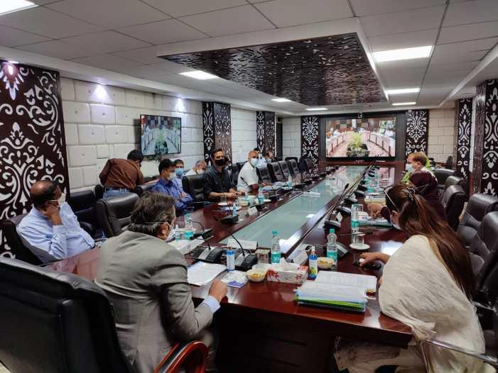 Advisor Baseer Khan chairs 105th BoDs meeting of JK-KVIB