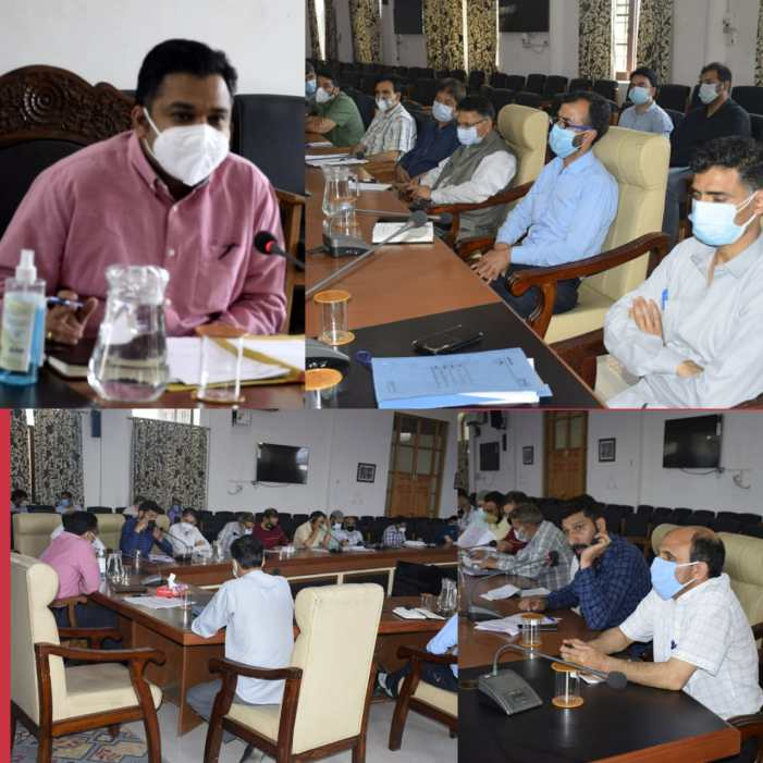Ensure 100% vaccination of target population in a time bound manner: DC Anantnag