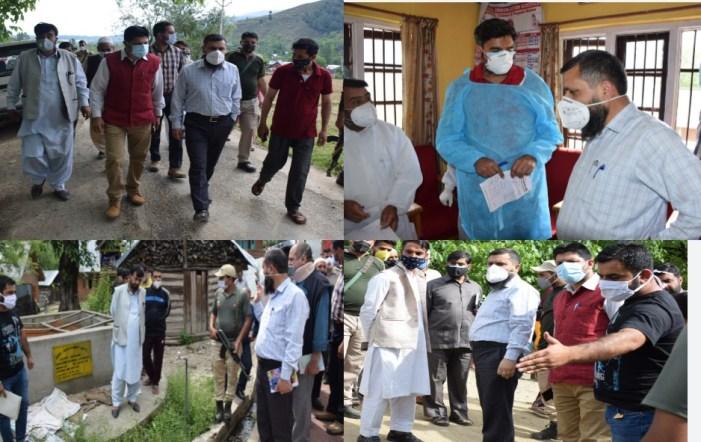 DC Kupwara visits Hayhama block