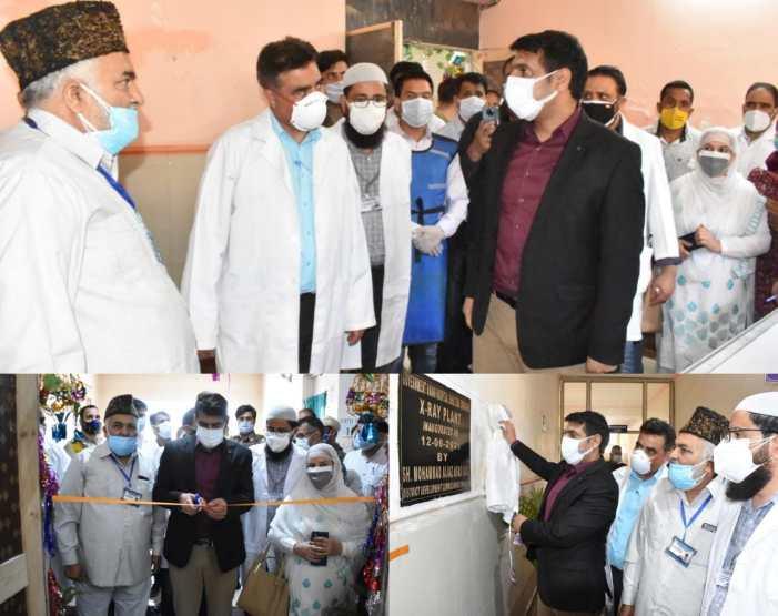 DC Srinagar inaugurates X-Ray Unit at Govt Unani Hospital Shalteng