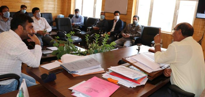 Director Agriculture reviews implementation of PMFBY