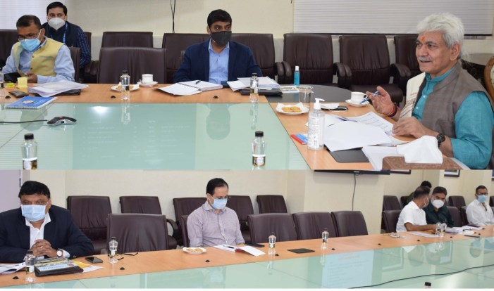 Lt Governor reviews functioning of J&K Sports Council; Youth Services & Sports department