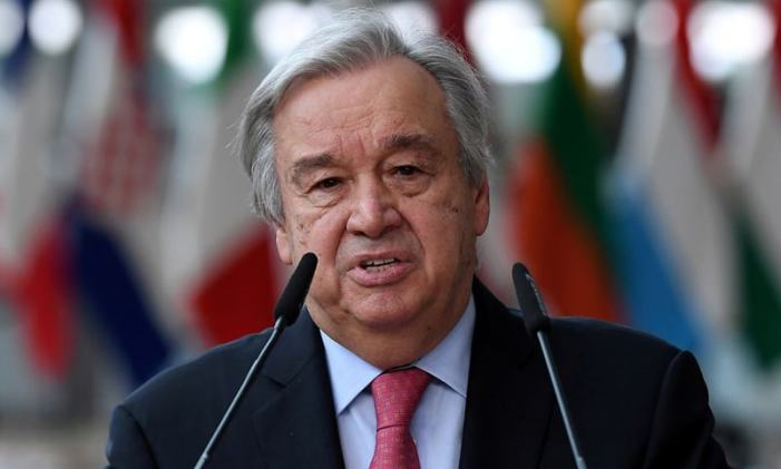 UN chief urges US to remove Iran sanctions as agreed in 2015