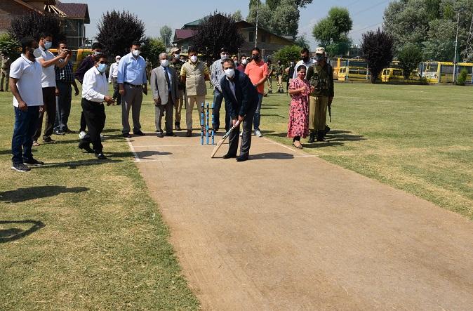 Advisor Baseer Khan inaugurates Jammu Kashmir Premier League