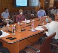 Bring innovations, new trends into JKRTC to make it profit-worthy public utility: Advisor Bhatnagar
