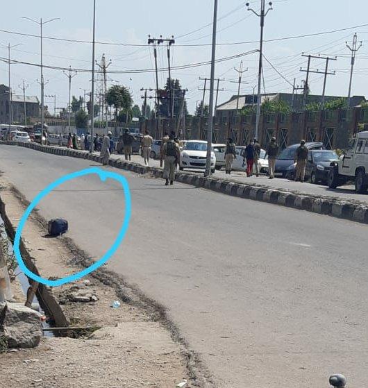 Suspicious bag found near Srinagar hospital, traffic suspended