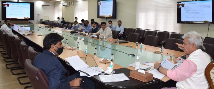 Lt Governor reviews functioning of Culture & allied departments